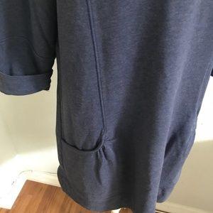 Dresses - Soft Sweater Dress Navy Blue w/ Pockets! Sz M